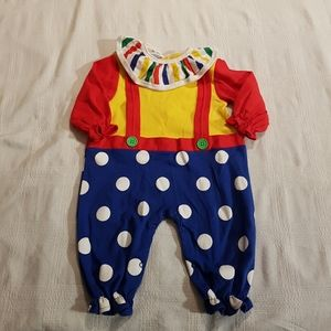 LeTop clown costume 6 months